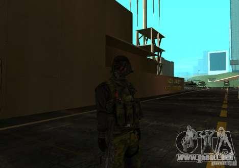 Piel de Battlefield 3 para GTA San Andreas tercera pantalla