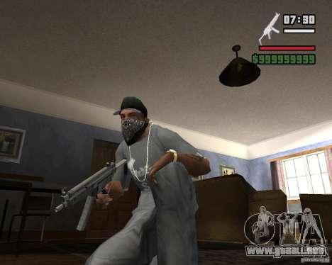 Mp5HD para GTA San Andreas segunda pantalla