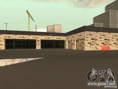 San Fierro Car Salon para GTA San Andreas sucesivamente de pantalla