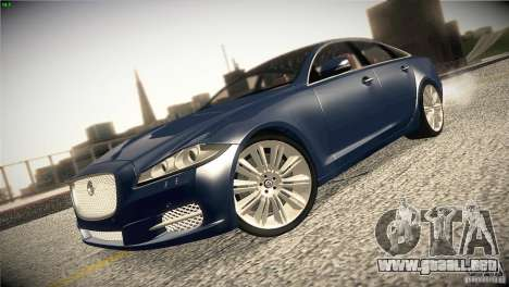 Jaguar XJ 2010 V1.0 para visión interna GTA San Andreas