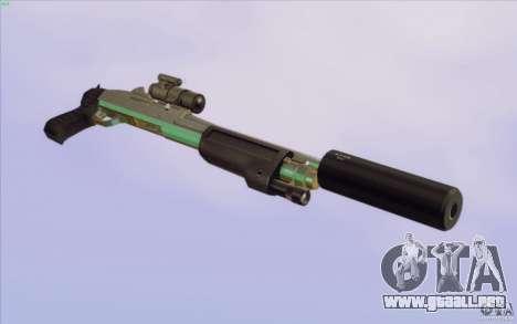 Low Chrome Weapon Pack para GTA San Andreas undécima de pantalla