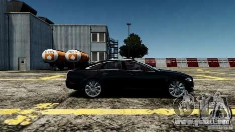 Jaguar XJ 2012 para GTA 4 left