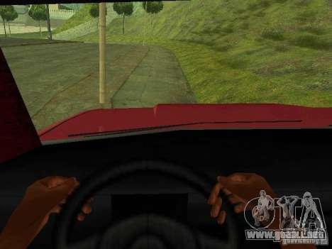 Picador para GTA San Andreas vista hacia atrás