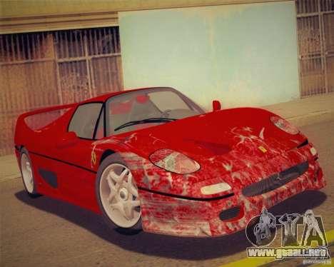 GTA IV Scratches Style para GTA San Andreas sucesivamente de pantalla