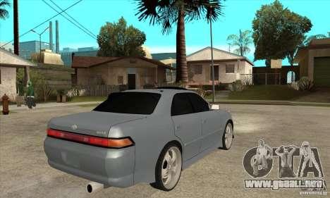 TOYOTA MARK II GT para la visión correcta GTA San Andreas