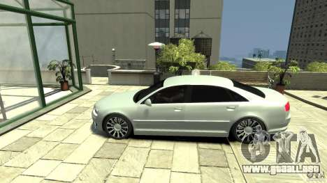 Audi A8 4.2 QUATTRO beta para GTA 4 left