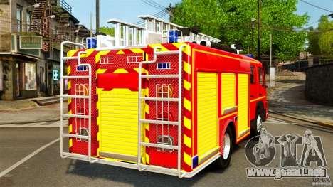 Mercedes-Benz Atego FPTGP Sapeurs Pompiers ELS para GTA 4 Vista posterior izquierda