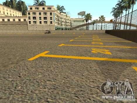 Nuevas texturas Los Santos Estadio Foro para GTA San Andreas