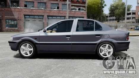 Iran Khodro Samand LX para GTA 4 left