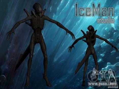 Xenomorph alienígena para GTA San Andreas