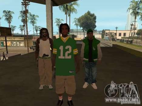 Nuevos aspectos Grove para GTA San Andreas