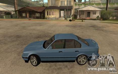 BMW E34 535i 1994 para GTA San Andreas left