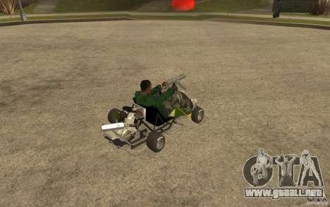 Hayabusa Kart para la visión correcta GTA San Andreas