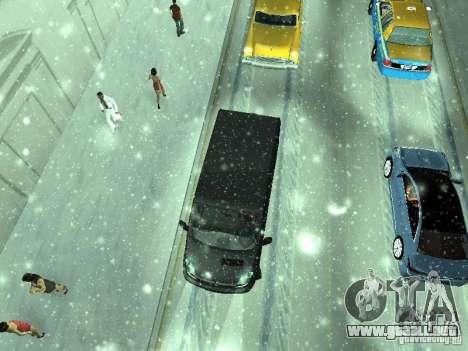 Vauxhall Vivaro v0.1 para visión interna GTA San Andreas