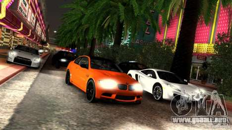 SA_gline v3.0 para GTA San Andreas octavo de pantalla
