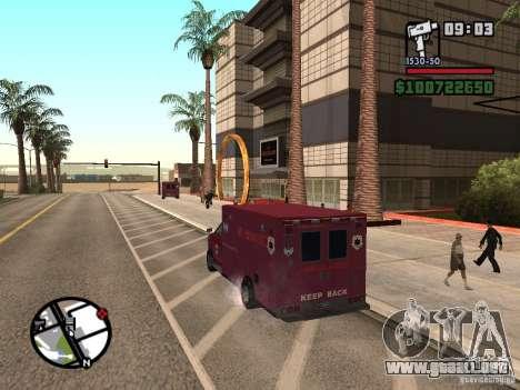 Ambulancia de GTA IV para GTA San Andreas left