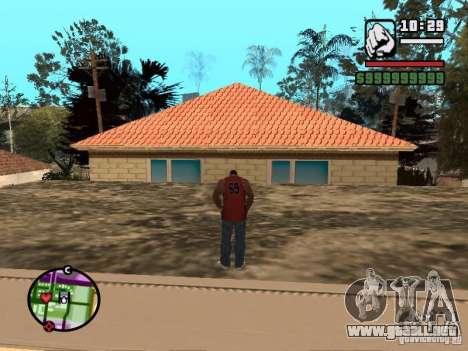 Privado CJ para GTA San Andreas segunda pantalla