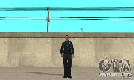 Un oficial de policía de GTA 4 para GTA San Andreas