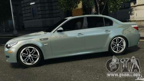 BMW M5 E60 2009 v2.0 para GTA 4 left