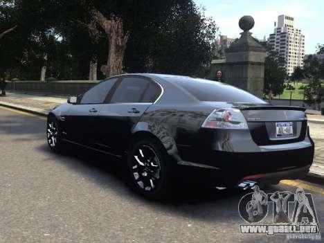 Pontiac G8 GXP para GTA 4 left
