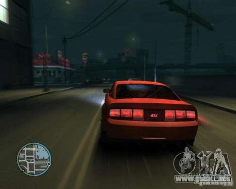 Ford Mustang GT para GTA 4 left
