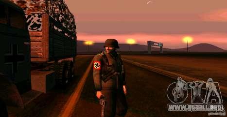Soldados de la Wehrmacht para GTA San Andreas