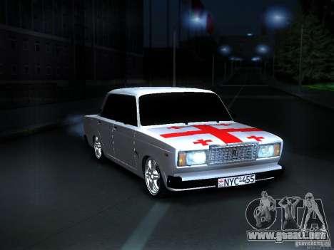 VAZ 2107 Georgia para GTA San Andreas