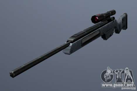 Steyr Scout para GTA San Andreas segunda pantalla