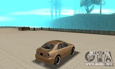 Lexus IS300 2005 para GTA San Andreas left