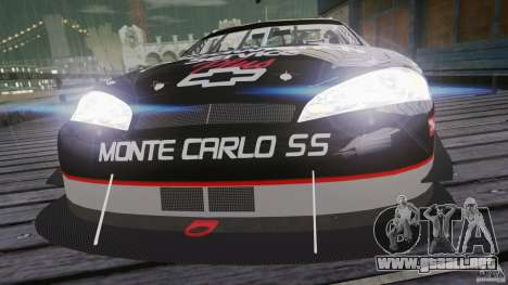 Chevy Monte Carlo SS FINAL para GTA 4 Vista posterior izquierda