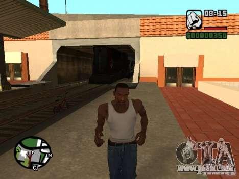 Combinar tren del juego Half-Life 2 para la visión correcta GTA San Andreas