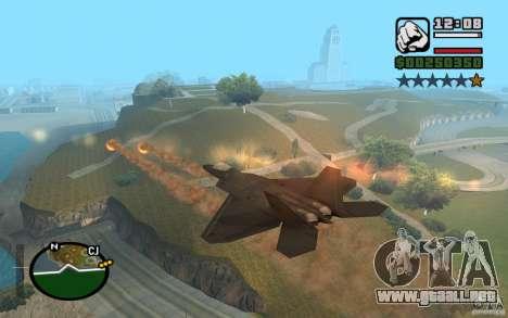 Hydra, Panzer mod para GTA San Andreas sexta pantalla