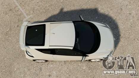 Honda Mugen CR-Z v1.1 para GTA 4 visión correcta