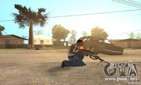 Intervenšn de Call Of Duty Modern Warfare 2 para GTA San Andreas sucesivamente de pantalla