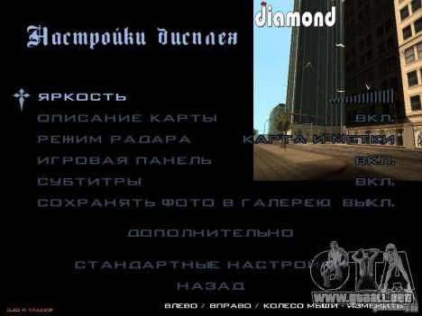 LibertySun Graphics For LowPC para GTA San Andreas octavo de pantalla