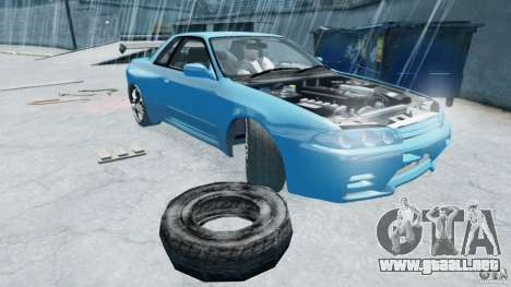 R32 Nissan Skyline GTS-T [FINAL] para GTA 4 left