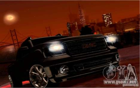 GMC Sierra 2011 para la vista superior GTA San Andreas