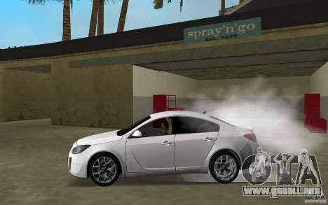 Opel Insignia para GTA Vice City left