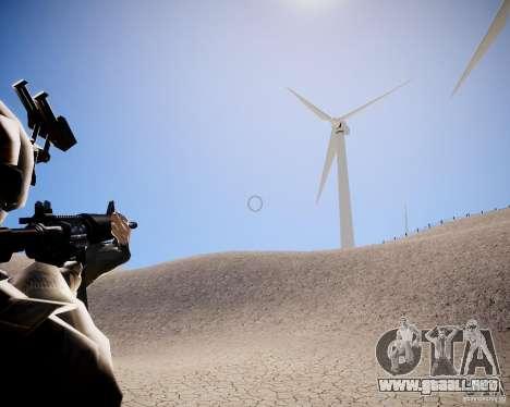 MW2 Phoenix Paratroopers para GTA 4 adelante de pantalla