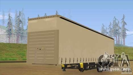 SchmitZ Cargobull para la visión correcta GTA San Andreas