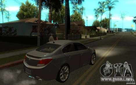 Opel Insignia 2011 para la visión correcta GTA San Andreas