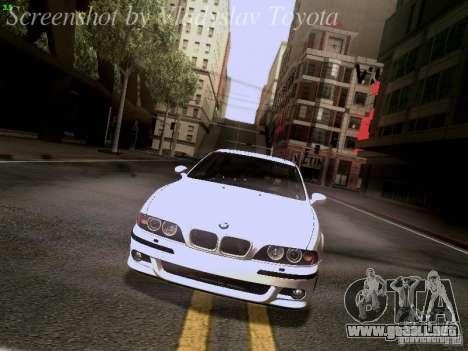 BMW E39 M5 2004 para el motor de GTA San Andreas