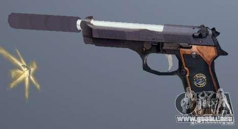Beretta SD para GTA San Andreas segunda pantalla