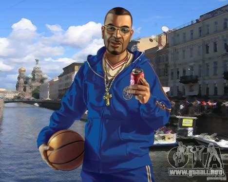 Pantalla de arranque de Rusia en América para GTA 4