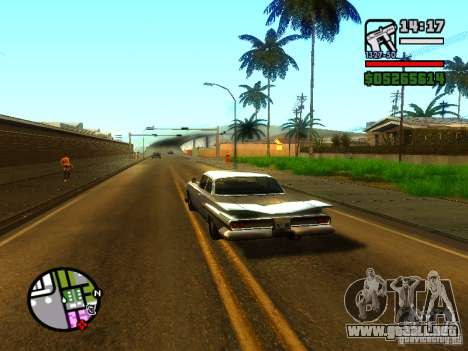 ENBSeries v2 para GTA San Andreas sucesivamente de pantalla