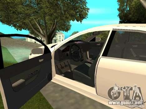 Honda Accord Type S 2003 para GTA San Andreas vista hacia atrás