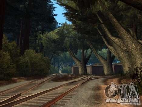 Bosque en Las Venturas para GTA San Andreas novena de pantalla