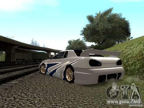 Vinilo con el BMW M3 GTR en Most Wanted para vista lateral GTA San Andreas