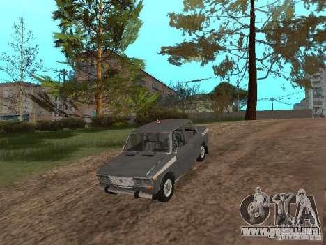 VAZ 21063 académico para visión interna GTA San Andreas