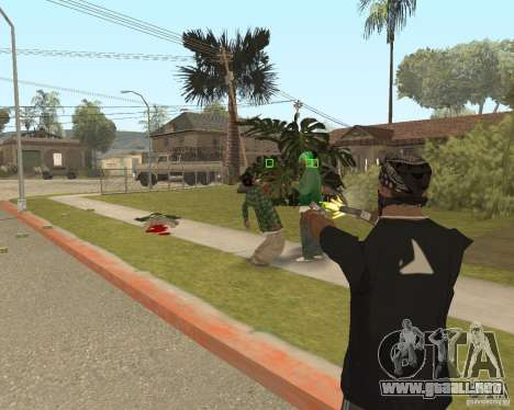 Mark and Execute para GTA San Andreas tercera pantalla